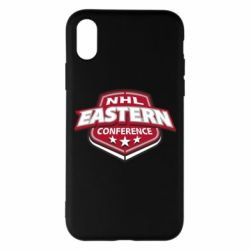 Чехол для iPhone X NHL Eastern Conference - FatLine