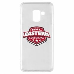 Чехол для Samsung A8 2018 NHL Eastern Conference - FatLine
