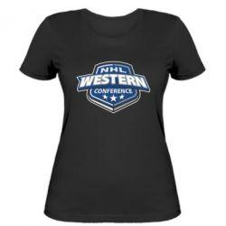 Женская футболка NHL Western Conference
