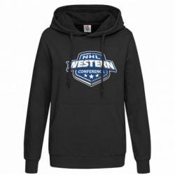 Женская толстовка NHL Western Conference - FatLine