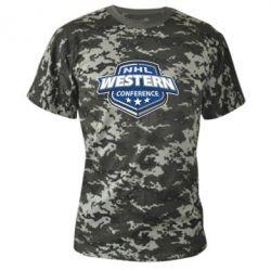 Камуфляжная футболка NHL Western Conference - FatLine