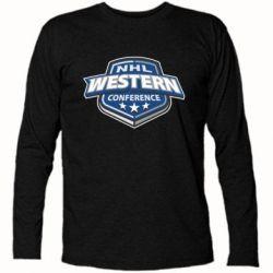 Футболка с длинным рукавом NHL Western Conference - FatLine