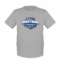 Детская футболка NHL Western Conference