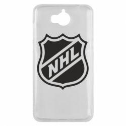 Чехол для Huawei Y5 2017 NHL - FatLine