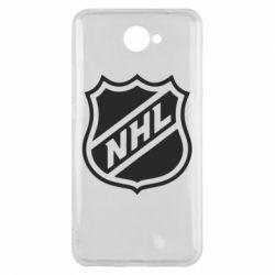 Чехол для Huawei Y7 2017 NHL - FatLine