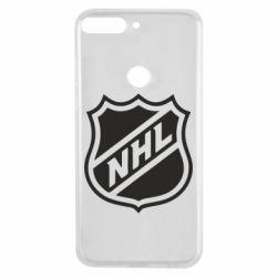 Чехол для Huawei Y7 Prime 2018 NHL - FatLine