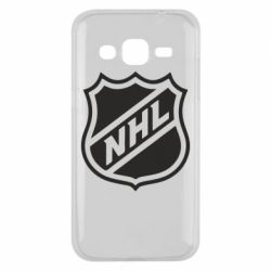 Чехол для Samsung J2 2015 NHL - FatLine