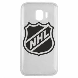 Чехол для Samsung J2 2018 NHL - FatLine