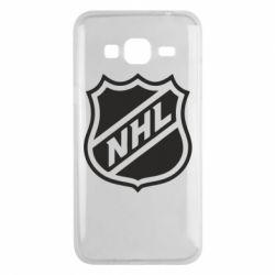 Чехол для Samsung J3 2016 NHL - FatLine