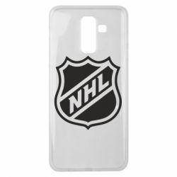 Чехол для Samsung J8 2018 NHL - FatLine