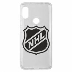 Чехол для Xiaomi Redmi Note 6 Pro NHL - FatLine