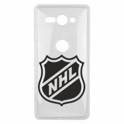 Чехол для Sony Xperia XZ2 Compact NHL - FatLine