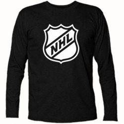 Футболка с длинным рукавом NHL - FatLine