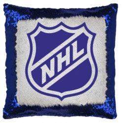 Подушка-хамелеон NHL