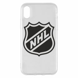 Чехол для iPhone X/Xs NHL