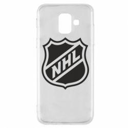 Чехол для Samsung A6 2018 NHL - FatLine