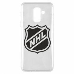 Чехол для Samsung A6+ 2018 NHL - FatLine