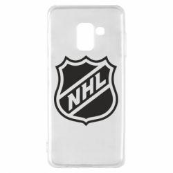 Чехол для Samsung A8 2018 NHL - FatLine