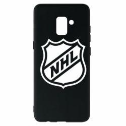 Чехол для Samsung A8+ 2018 NHL - FatLine