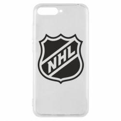 Чехол для Huawei Y6 2018 NHL - FatLine