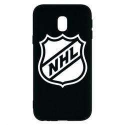 Чехол для Samsung J3 2017 NHL - FatLine