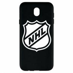 Чехол для Samsung J7 2017 NHL - FatLine