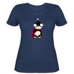 Женская футболка Нибблер