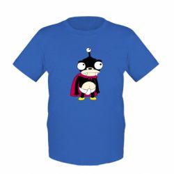 Детская футболка Нибблер - FatLine