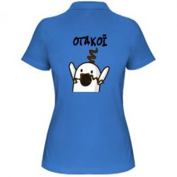 Женская футболка поло Ничоси казак - FatLine