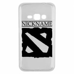 Чехол для Samsung J1 2016 Nickname Dota