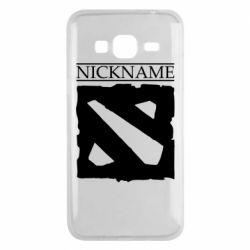 Чехол для Samsung J3 2016 Nickname Dota