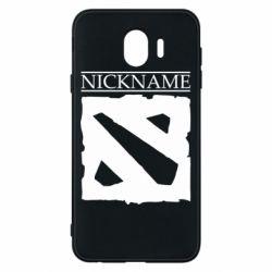 Чехол для Samsung J4 Nickname Dota
