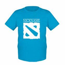 Детская футболка Nickname Dota