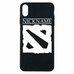 Чехол для iPhone Xs Max Nickname Dota