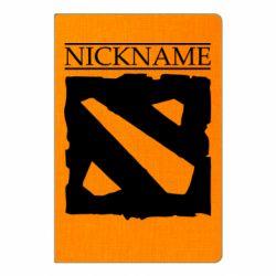 Блокнот А5 Nickname Dota