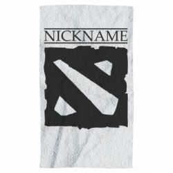 Полотенце Nickname Dota