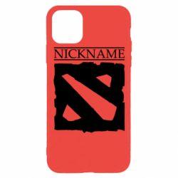 Чехол для iPhone 11 Pro Nickname Dota