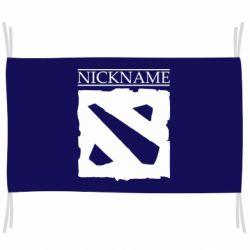 Флаг Nickname Dota