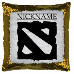 Подушка-хамелеон Nickname Dota