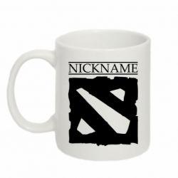 Кружка 320ml Nickname Dota