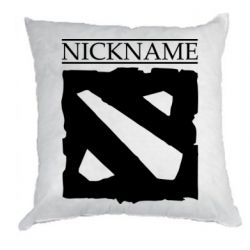 Подушка Nickname Dota