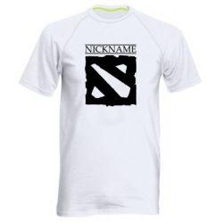 Мужская спортивная футболка Nickname Dota