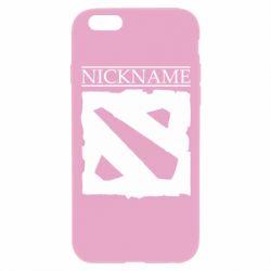 Чехол для iPhone 6 Plus/6S Plus Nickname Dota