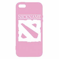 Чехол для iPhone5/5S/SE Nickname Dota