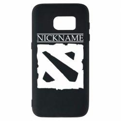 Чехол для Samsung S7 Nickname Dota