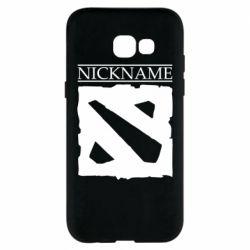 Чехол для Samsung A5 2017 Nickname Dota