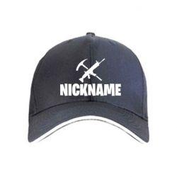 Кепка Nickname fortnite weapons