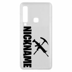 Чохол для Samsung A9 2018 Nickname fortnite weapons