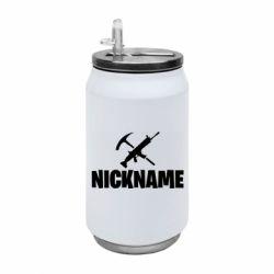 Термобанка 350ml Nickname fortnite weapons