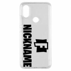 Чехол для Xiaomi Mi A2 Nickname fortnite